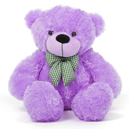 Image result for purple teddy bear