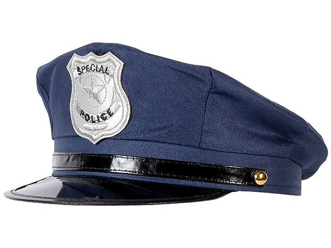 Matraque d/éguisement soir/ée d/éguis/ée Homme Femme Ambiance sp/éctacle costumerie Theatre Trend-world D/éguisement Policier Menottes Fausse Moustache KV-131 Casquette Police Am/éricaine
