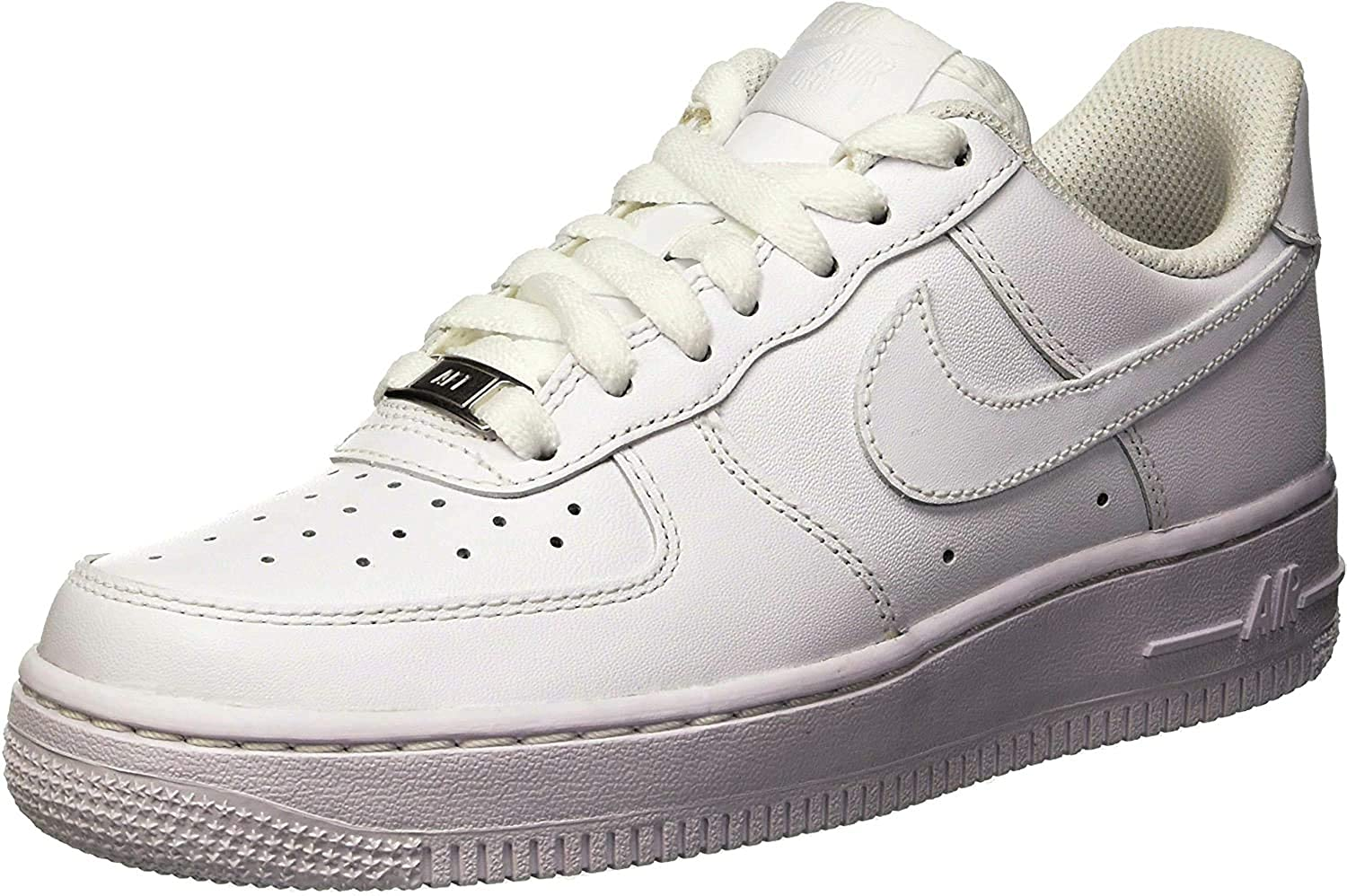 Nike Damen WMNS AIR Force 1 07 Sneaker, weiß, 37.5 EU
