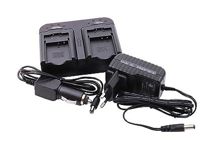 Caricabatteria  per  Panasonic Lumix DMC-TZ2 TZ3 TZ4 TZ5