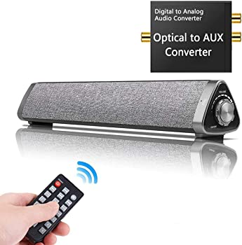HONEST KIN 10W Wired and Wireless Home Theater Sound Bar