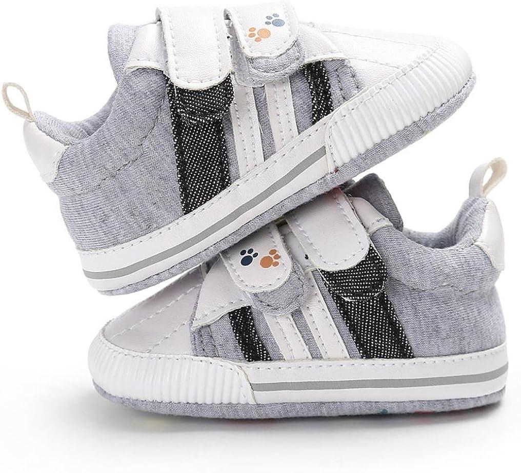 Girls Boys Cotton Anti-slip Sneakers Canvas