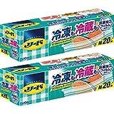 【Amazon.co.jp 限定】【まとめ買い】リード冷凍も冷蔵も新鮮保存バッグ M×2個