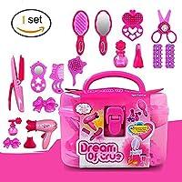 EQLEF® 4 + Girls Pink Simulación peluquería cosméticos