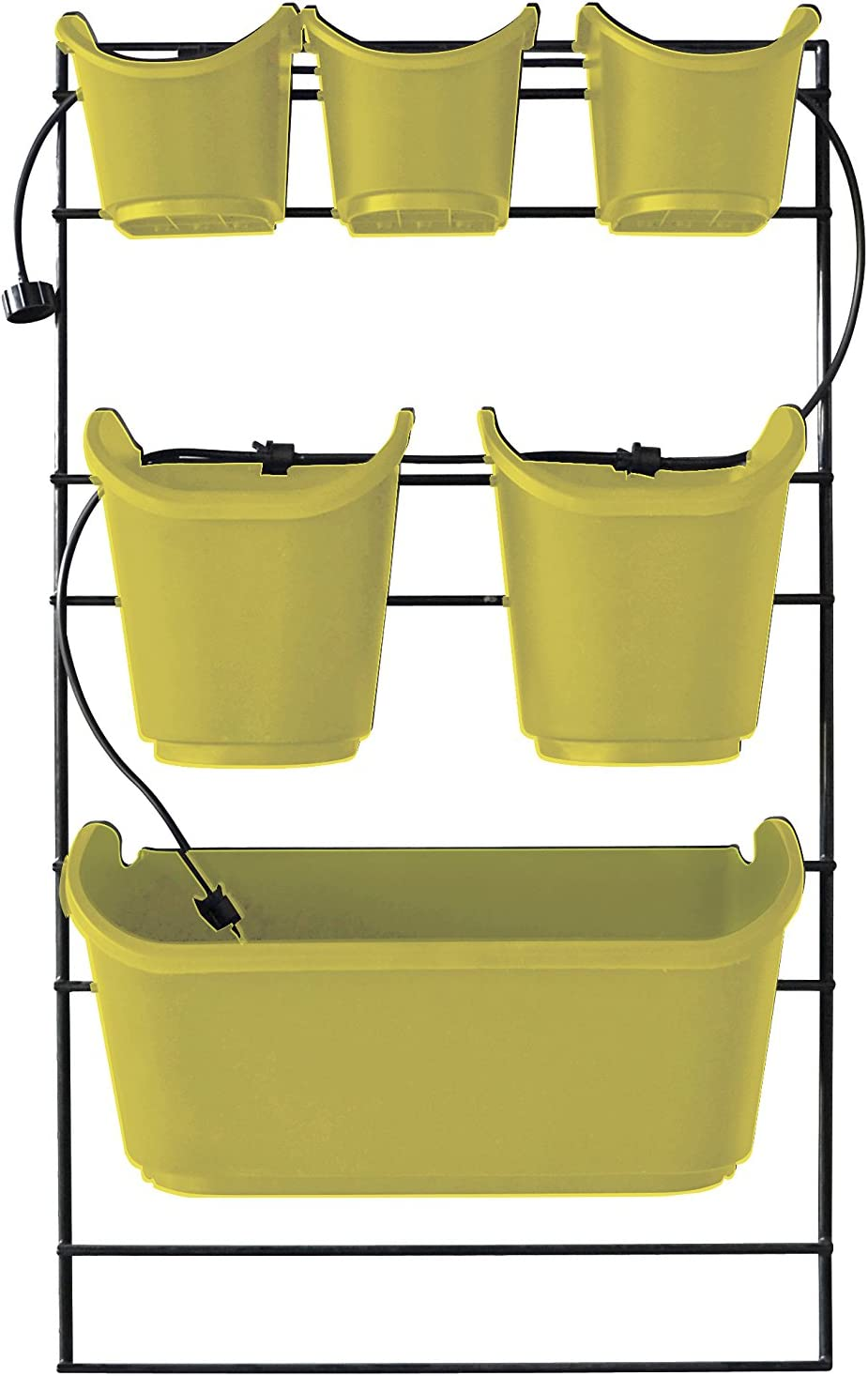 Watex WX052 Mounted Green Wall Grow-Your-Own Vertical Planter, Yellow