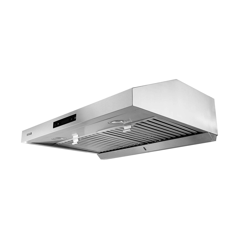 VESTA 860CFM 30'' Stainless Steel Under Cabinet Range Hood 6 Speeds With Touch Screen