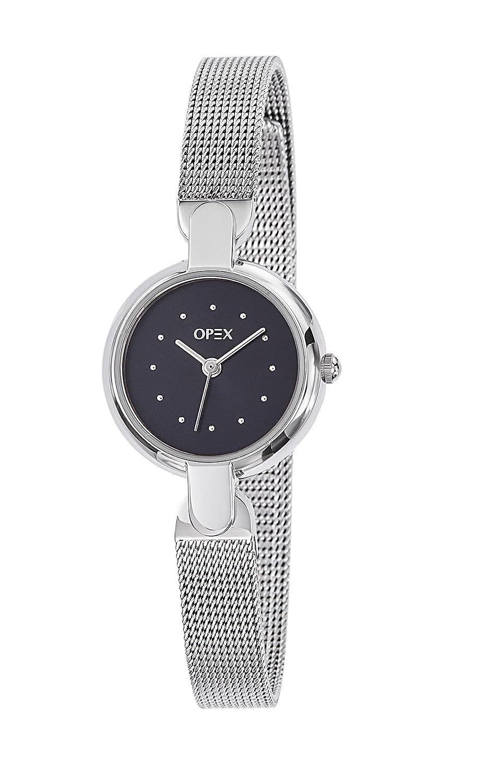Opex Damen-Armbanduhr Safarina Analog Quarz Metall X3821MA1