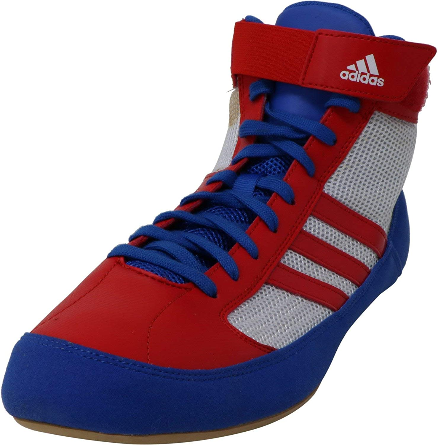 mejor lugar zapatos de separación auténtica venta caliente Adidas Hvc Laced Wrestling Shoes - 14 - Blue/red/white: Amazon.co.uk: Shoes  & Bags