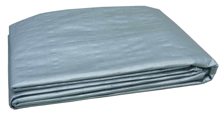 Grillkid 6X8 4.5 Mil Thick General Purpose Waterproof Poly Tarp 50608201