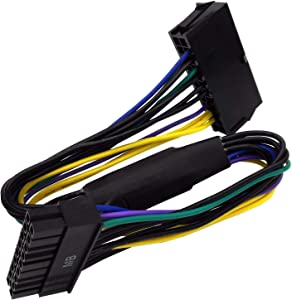 24 Pin to 18 Pin ATX PSU Power Adapter Cable for HP Z230/Z420/Z620 Workstation 12-inch(30cm) ?-