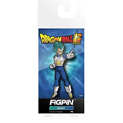 FiGPiN Mini Dragon Ball Super: Saiyan God Super Saiyan Vegeta - Collectible Pin: Video Games
