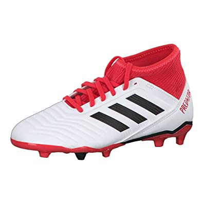 adidas Performance PREDATOR 18.3 AG - Moulded stud football boots - black/white/solred