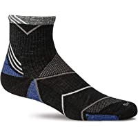 Sockwell Men's Incline Quarter Moderate Compression Sock