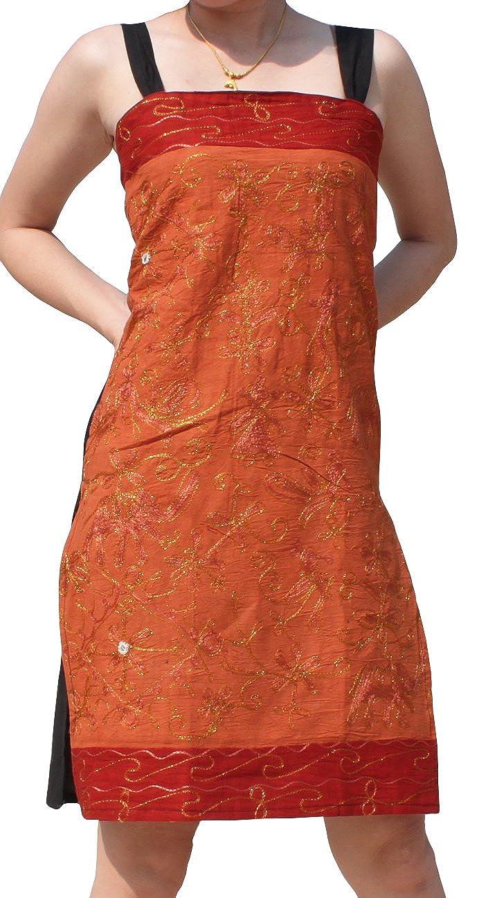Raan Pah Muang Wild Petticoat Style Girls Wave Top or Gypsy Earth Dress