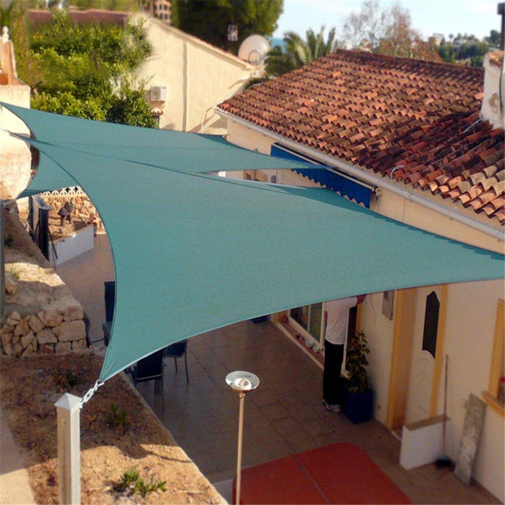 JFJL Toldo Vela De Sombra Protección UV, Sun Net Mesh Shade Bloqueador Solar Shade Sail Resistente A Los UV Red para Cubrir La Planta para Flores De Efecto ...