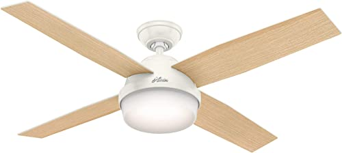 Hunter Fan Company 59217 52 Indoor Ceiling Fan with Light, White