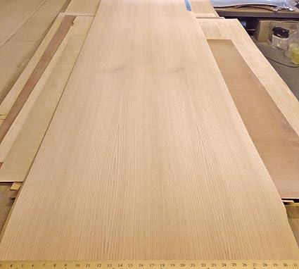 Red Oak Wood Veneer 29 X 95 With Phenolic Backer Hpl