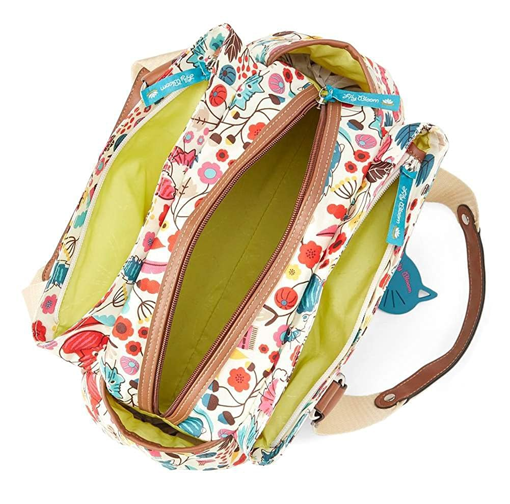 Amazon.com: Lily Bloom Landon Triple Section Satchel, Who Let The Dogs Out: Shoes