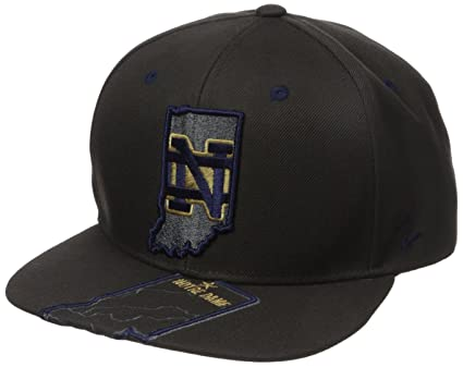 the best attitude 827d9 c4844 Image Unavailable. Image not available for. Color  Zephyr NCAA Notre Dame  Fighting Irish Men s Stateline Snapback Cap, Adjustable ...