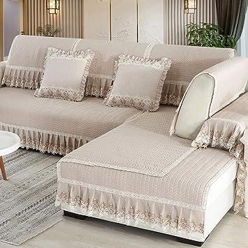 Amazon.com: SANDM Fabric Non-Slip Sofa Cushioning, Vintage lace ...