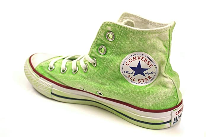 Converse Chuck Taylor (Chucks) All Star Sneaker Unisex Erwachsene High Top Neongrün