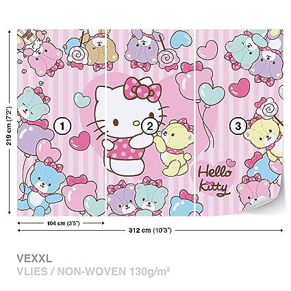 Hello Kitty Wall Mural Photo Wallpaper Room Decor 460ws Amazon Com