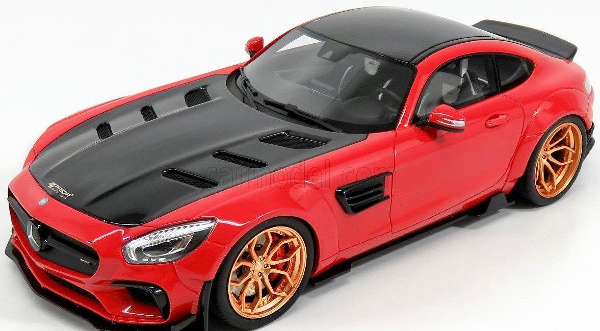 Gt Spirit - Mercedes AMG GT Modified by Prior Design - 2016 - (Escala 1/18, zm104, Rojo: Amazon.es: Juguetes y juegos