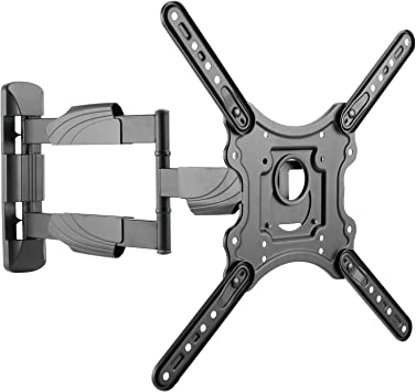 Intecbrackets - Soporte de pared para TV LCD y LED de 42 a 55 pulgadas (brazo basculante,