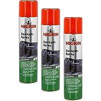 Nigrin 3 x 74156 Cockpit-Spray Neutral 400 ml
