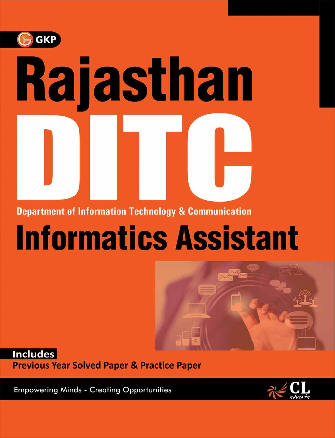 Buy Rajasthan DITC - Informatics Assistant Book Online at