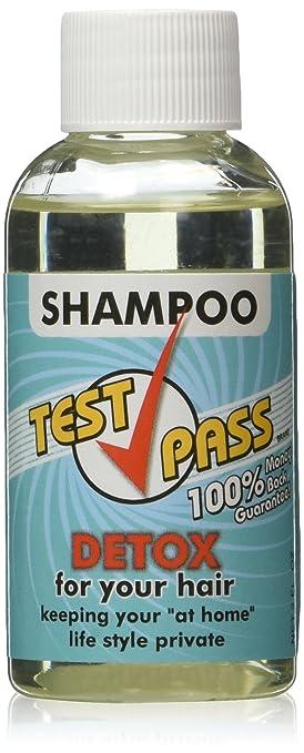 Test Pass Detox Shampoo - Single Use, NET 2 FL  OZ