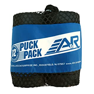 A&R Sports Ice Hockey Puck (Pack of 12)