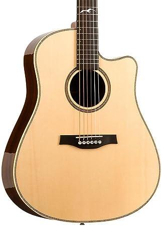 Gaviota Artist Peppino CW QII Guitarra Eléctrica y Acústica: Amazon ...