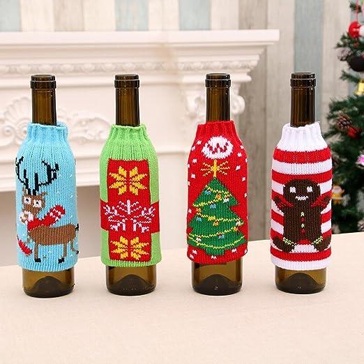 Artículos para el Hogar de Navidad de Alto Grado de Punto Botellas ...