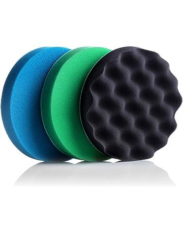 Esponja Pulidora para Coche, 180mm Almohadilla de Pulido para Coche, Tacklife SPP1A Esponjas de