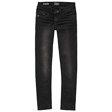 7aa96b008d7026 Vingino HO-10193 Vingino Mädchen Jeans Hose schwarz Jeanshosen  Amazon.de   Bekleidung
