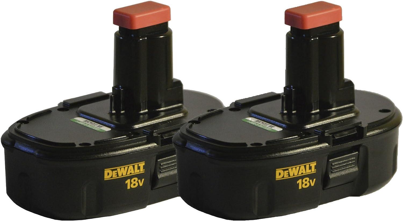 Dewalt DC9098 18V Ni-Cd Low Profile Batteries (2-Pack)