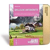 Jochen Schweizer Hotel-Gutschein 'IDYLLISCHE UNTERKÜNFTE FÜR 2', mehr als 60 Hotels, 1 Übernachtung für 2 Personen inkl. Frühstück, Erlebnis in Geschenk-Box