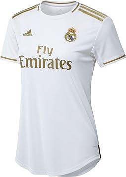 adidas Real Madrid Home Jersey - Camiseta de Manga Corta Unisex Adulto: Amazon.es: Deportes y aire libre