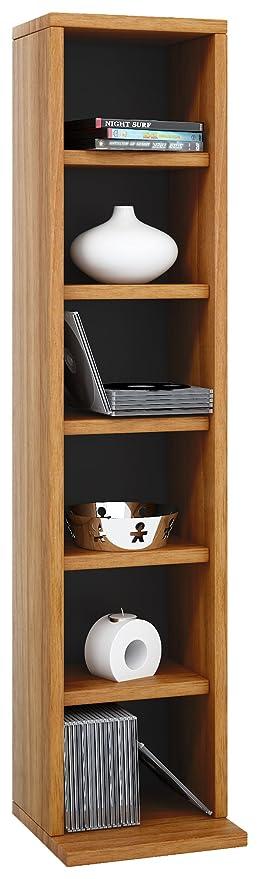Möbel Aufbewahrung vcm regal dvd cd schrank rack möbel aufbewahrung holzregal