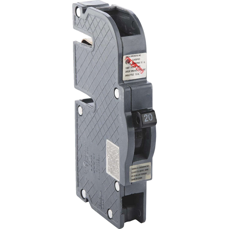 2 Breakers Zinsco Circuit Breaker 20 Amp Bolt In 30 3 4 Doublepole Type Ch Breakerch230 The Home