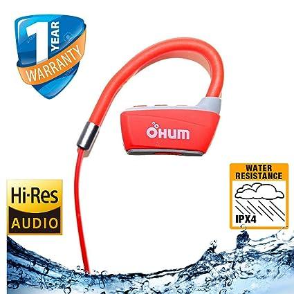 c4e755b5d9d OHUMLABS™ Bluetooth Headphones, OHUM Best Wireless Sports Earphones w/ Mic  IPX4 Waterproof HD
