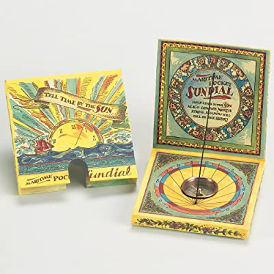 Maritime Pocket Sundial by Authentic Models: Toys & Games