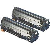 【2本セット】 キヤノン用 CRG-337互換トナーカートリッジ ブラック  【互換トナーカートリッジ 】 印刷可能枚数:約2,400枚 (A4用紙・画像面積比5%で連続印刷したときの参考値) 対応機種:MF229dw/MF226dn/MF216n/MF224dw/MF222dw  インクのチップスオリジナル