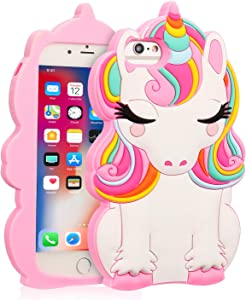 Coralogo for iPhone 6/7/8/6S/SE 2020 Case, 3D Cute Cartoon Funny Animal Silicone Character Designer Skin Kawaii Fashion Fun Cover Cases for Girls Teens Kids iPhone 6/7/8/6S/SE 4.7