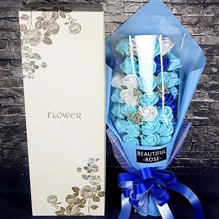 Zhouminli - Ramo de Flores para Hombre y Mujer, Regalo de ...