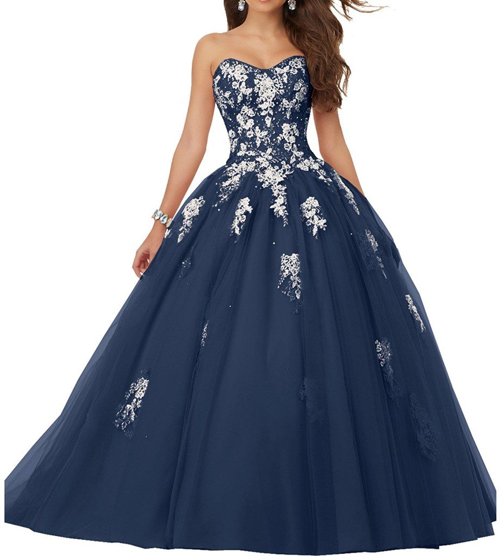 Applique Quinceanera Dress: Amazon.com