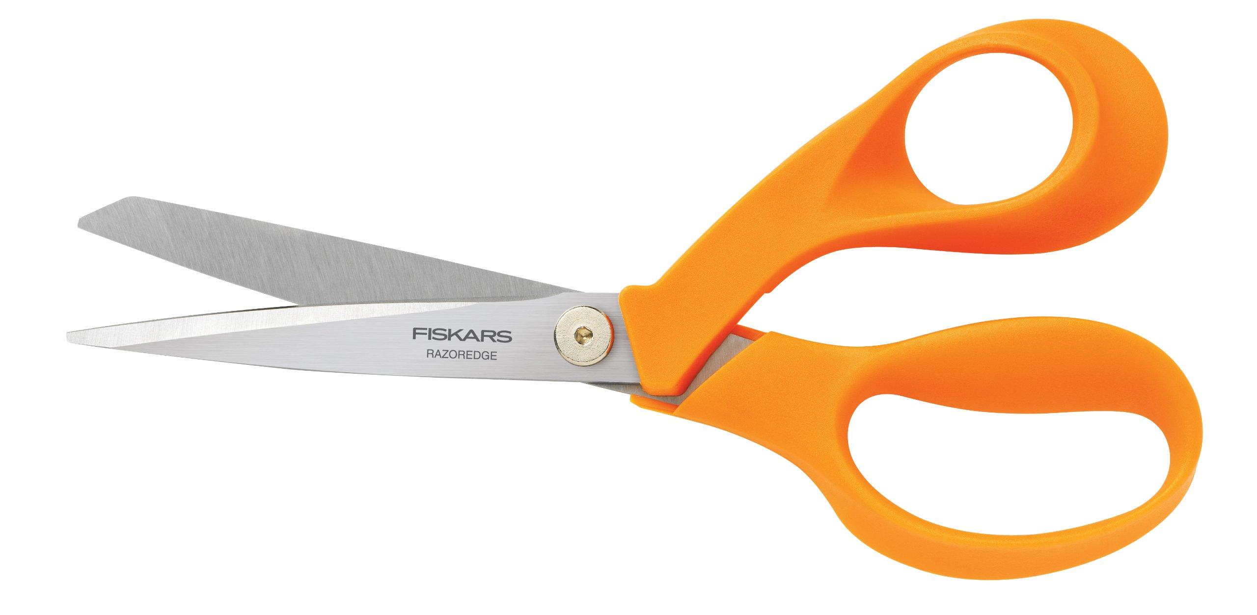 Tijera : Fiskars Crafts 8180 Razoredge Fabric Shears, 8-i..
