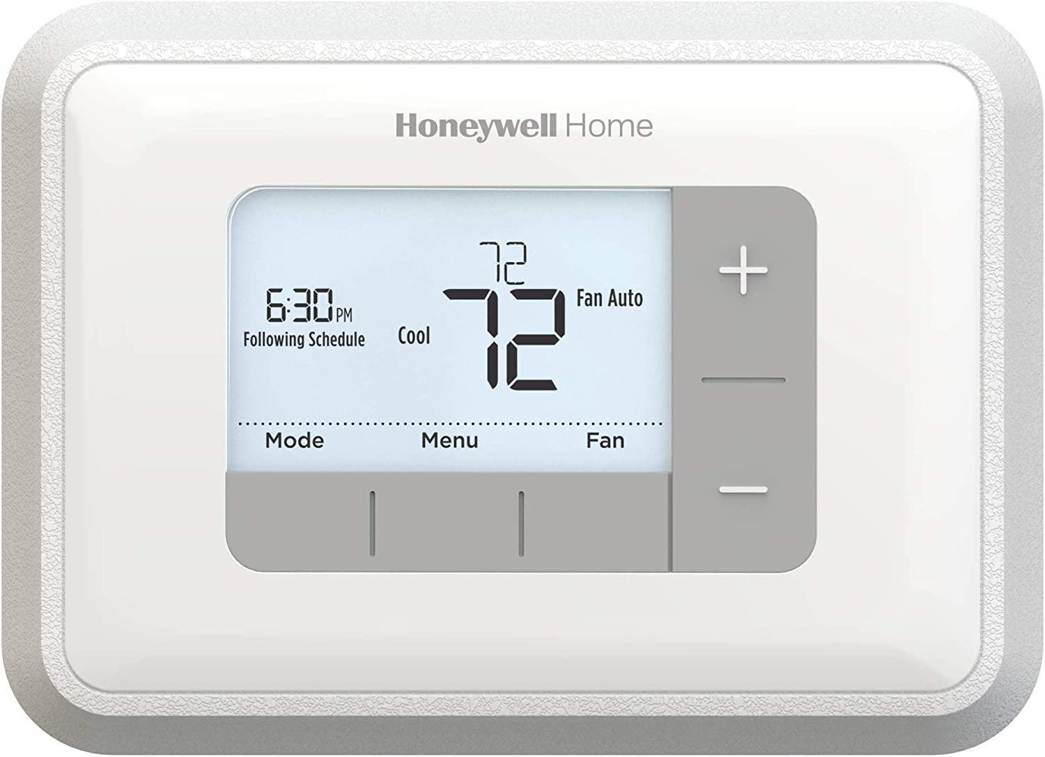 Amazon Com Honeywell Home Home Rth6360d1002 Programmable Thermostat 5 2 Schedule 1 Pack White Home Improvement