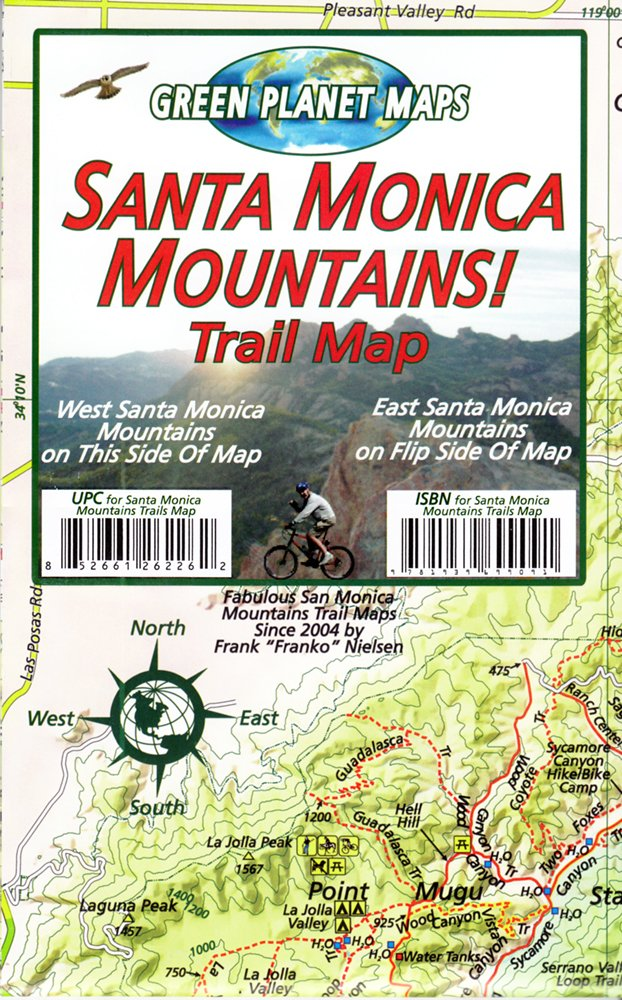 Santa Monica Mountains Trail Map: Frank Nielsen ... on los angeles hiking map, eaton canyon hiking map, mount lee hiking map, griffith observatory hiking map, ross lake hiking map, lake mead hiking map, northern california hiking map, joshua tree national park hiking map, delaware water gap hiking map, chino hills hiking map, point mugu hiking map, arizona hiking map, will rogers state park hiking map, figueroa mountain hiking map, lake tahoe hiking map, malibu hiking map, mt. tam hiking map, channel islands hiking map, sun valley hiking map, elysian park hiking map,